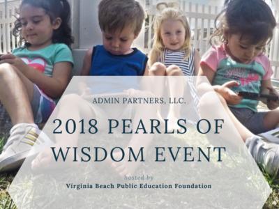 ADMIN PARTNERS AT THE 2018 PEARL OF WISDOM EVENT