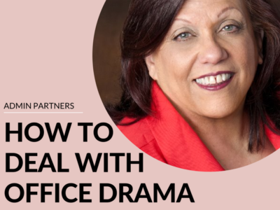 HOW TO DEAL WITH OFFICE DRAMA
