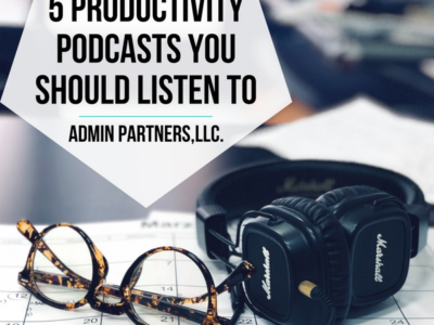 5 PRODUCTIVITY PODCASTS YOU SHOULD LISTEN TO
