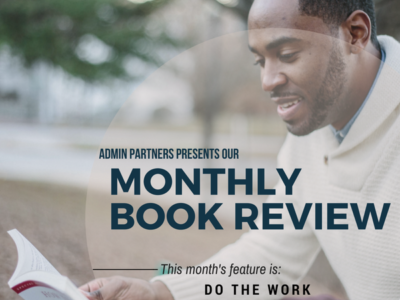 MONTHLY BOOK REVIEW: DO THE WORK