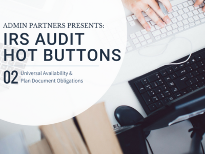 IRS AUDIT HOT BUTTONS: PART TWO