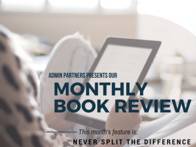 MONTHLY BOOK REVIEW: NEVER SPLIT THE DIFFERENCE