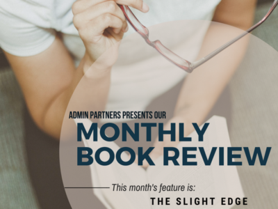 MONTHLY BOOK REVIEW: THE SLIGHT EDGE