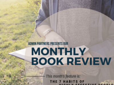 MONTHLY BOOK REVIEW: THE 7 HABITS OF HIGHLY EFFECTIVE PEOPLE